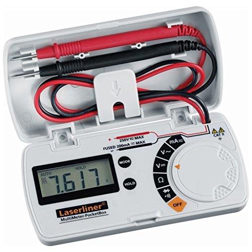 Laserliner Hand-Multimeter digital MultiMeter Pocket Box Kalibriert nach: Werksstandard (ohne Zertif