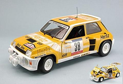 Renault 1 18 - UNIVERSAL HOBBIES UH4554 RENAULT 5 TURBO N.38