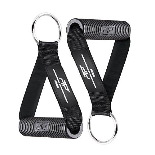 PTP Unisex- Erwachsene Elite Series Fitness Griff, Black, One Size
