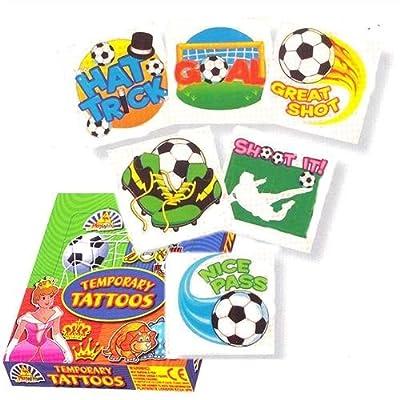 """Football Tattoos assorted"""