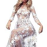 Ausverkauf Dessous Babydoll Nachtwäsche, cinnamou Frauen Süße Sexy Musselin Babydoll Bandage Rock durchsichtig Nachthemd plus Größe Versuchung KleidÜbergröße Unterwäsche (L, Weiß)