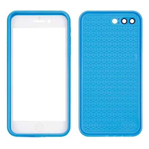 Hülle für iPhone 7 plus , Schutzhülle Für iPhone 7 Plus Tridimensional Diamond Pattern Life Wasserdichte TPU + PC Schutzhülle ,hülle für iPhone 7 plus , case for iphone 7 plus ( Color : Gold ) Blue