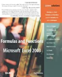Formulas and Functions with Microsoft Excel 2003 (Business Solutions)
