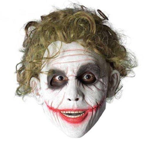 oker-Perücke aus Batman, für Erwachsene–Einheitsgröße (Joker-halloween-maske)