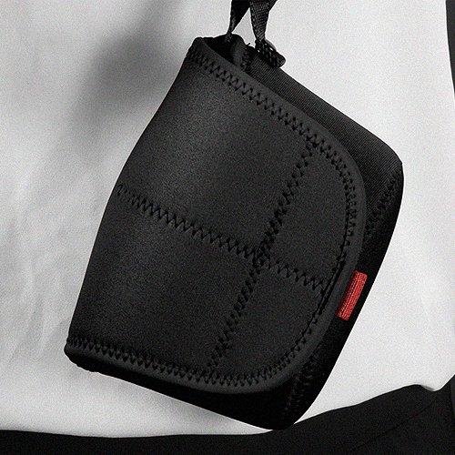 MATIN Neoprene DSLR SLR RF Mirrorless Camera Soft Pouch Bag Body Case V2 (Medium/Black) Medium Soft Case