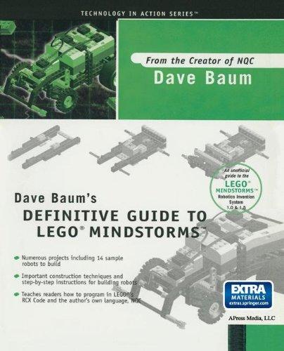 Preisvergleich Produktbild Dave Baum's Definitive Guide to LEGO MINDSTORMS (Technology in Action)