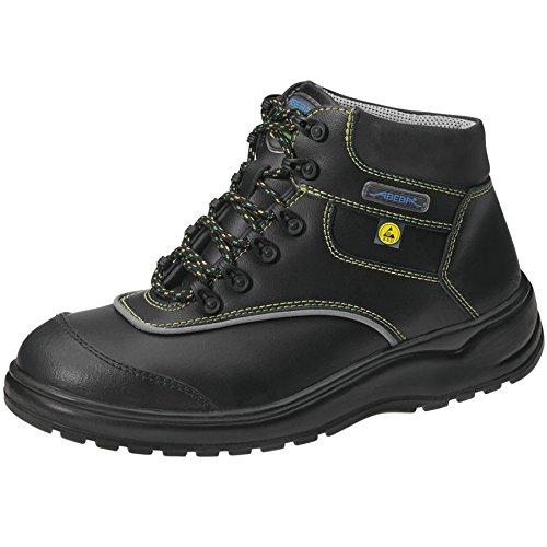 Abeba Light Stiefel schwarz ESD S3 ATEX Design Schwarz