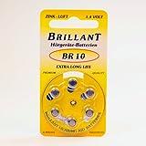 Brillant BR 10 Hörgerätebatterie