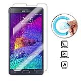 WiTa-Store Panzer Protector für Samsung Galaxy Note 4 biegsam Splitterfrei 2X Display Schutz 9H Smartphone passend zu Modell SM-N910F