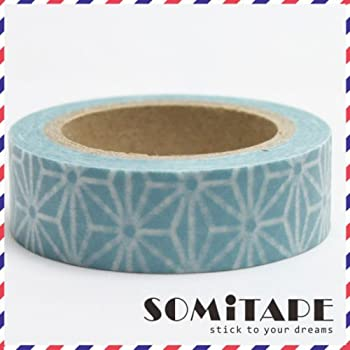 Paper Washi Masking Tape Sticky Adhesive Roll Decorative Craft Gift SOMI ANIMALs