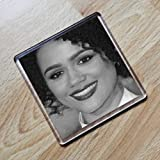SEASONS Nathalie Emmanuel - Original Art Coaster #js001