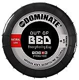 Dominate Out Of Bed Pâte à Coiffer à l'Argile, Produits de Salon, Fixation Forte avec effet grunge sec et mat, 85g