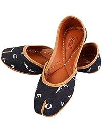 0df6732e8ba96 Amazon.in: Cotton - Ethnic Footwear / Women's Shoes: Shoes & Handbags