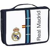 Real Madrid - Maletín dibujo, 34 piezas, 21 x 15 cm (Safta 411356549)