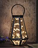 #7: Shining Decors 20 Led Battery Operated Warm White Crack Globe Fairy String Copper Wire Lights
