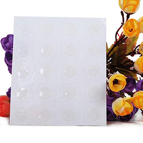 Cocodeko punto di colla dell'aerostato, punti 400 punti doppio laterali di adesivi della colla adesivo nastro adesivo per la cerimonia nuziale di compleanno famiglia di riunione decorazione