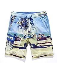 PZLL Ralph Lauren verano surf en cortos seco rápidos Hawaii, suelta la marea de impresión cortos de moda , l