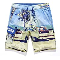 PZLL Ralph Lauren summer surf en short sèche rapide de Hawaii, mode impression shorts marée en vrac