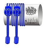 Lazy Lock De alta calidad cordones elásticos deportivas sin atar - poliéster en diferentes colores - los cordones perfectos para maratón y triatlón atletas, niños, ancianos, etc