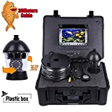 #5: Vanxse 7 TFT LCD Sony CCD 800tvl Hd Underwater Video Camera Fish Finder 360 Degree View Remote Control boating fishing view camera Ice fishing Camera Kit Underwater Fish Camera 30Meters Cable