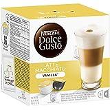 Nescafé Dolce Gusto Latte Macchiato Vanilla, Lot de 3, 3 x 16 Capsules (24 portions)