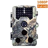 """Mbylxk Wildkamera 1080P Full HD 16MP Jagdkamera Gartenkamera 120°Breite Vision Infrarote 20m Nachtsicht 2.4"""" LCD Wasserdichte Wild Came"""