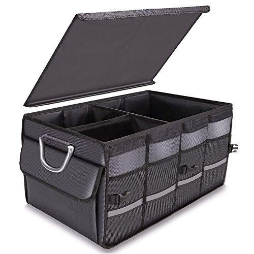 CXYY Car Boot Organizer Faltbare Lagerung Boot Organizer Box, Kleidung Aufbewahrungsbox, Falten Multifunktions-Aufbewahrungsbox, Anwendbar Auf Auto Familie Langlebig