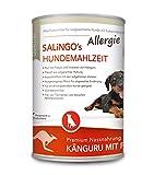 SALiNGO Allergie Hundefutter nass, Känguru und Pastinake, getreidefrei (6x400g)