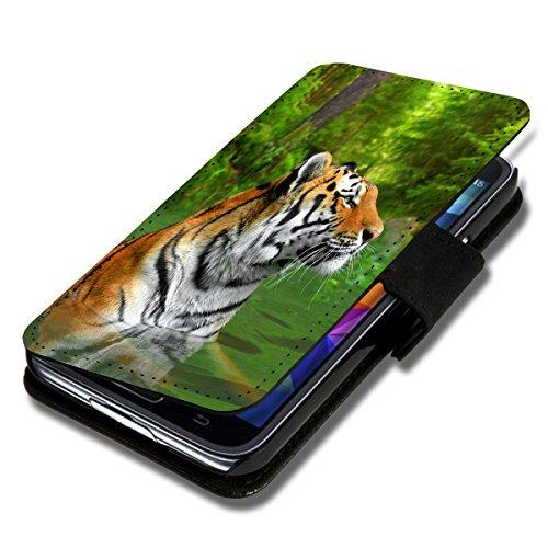 Book Style Flip Handy Tasche Case Schutz Hülle Schale Motiv Etui für HTC Desire 310 - Flip 1A39 Design8