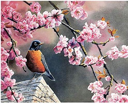 Peinture De Bricolage Numéros Kits Kits Kits Oiseaux Fleurs Animaux Mur Art Toile Peinture Peint À La Main Décor À La Maison Unique Gfit 722ac7