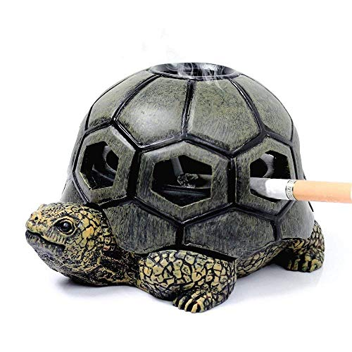 Monsiter Schildkröte Aschenbecher für Zigaretten Creative Turtle Aschenbecher Handwerk Dekoration