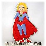 Holzschild Türschild tolle coole und lustige Sohn Tochter Geschenke für die Beste Mama Mutter der Welt zum Geburtstag Muttertag Weihnachten I Heldin des Alltags
