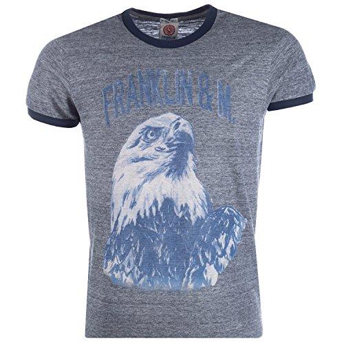 Franklin & Marshall - Camiseta - para hombre Gris gris Medium