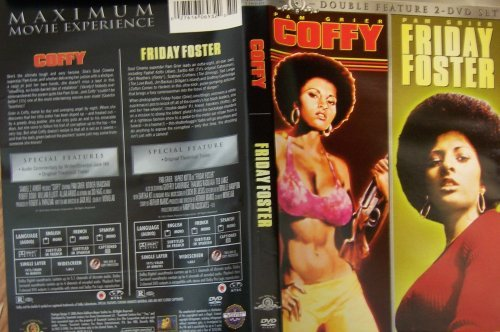 Coffy and Friday Foster, Pam Grier Double Feature 2 DVD Set
