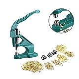 Máquina de Ojal, Arandela de Máquina Prensa para Ojales Ojal Máquina de la Prensa 3 Troqueles Diferentes, Troqueles: 6 mm, 9 mm, 12 mm