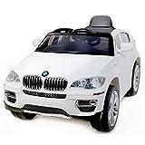 Expertshop Auto Macchina ELETTRICA per Bambini BMW X6 12V Colore Bianco