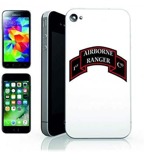 Smartphone Case aria corridore della Foresta di insegne del Reggimento dell Esercito Militare della Guerra del Guerriero della Lotta di Commando per Apple Iphone 4/4S, 5/5S, 5C, 6/6S, 7& Samsung