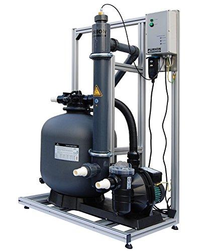 PURION 80 Filtersystem mit UV-Anlage für Pools bis 90m³ (PVC-U mit Lebensdauerüberwachung)