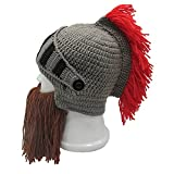 Metyou Perücke Bart Hüte Handgemachte Strick Warme Winter Caps Ski Lustige Maske Beanie für Männer Frauen