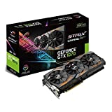 Asus GeForce GTX 1070 Strix-8G Gaming Grafikkarte (Aktiv, NVIDIA, Geforce GTX 1070, SDRAM, PCI Express 3.0, 7380 X 4320 Pixel)