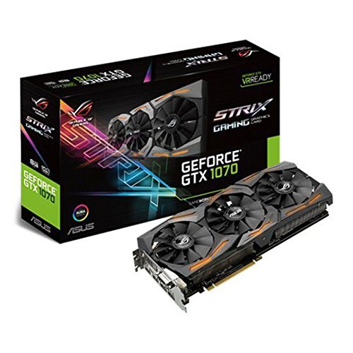 ASUS GeForce GTX 1070 8GB ROG STRIX Graphic Card (STRIX-GTX1070-8G-GAMING) UK