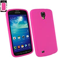 Emartbuy ® Samsung Galaxy S4 Active I9295 Silicon Skin Cover / Case Rosa