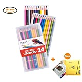 Best US Art Supply Kid Art Supplies - Us Sense Colored Pencils Assorted Colors Pack of Review