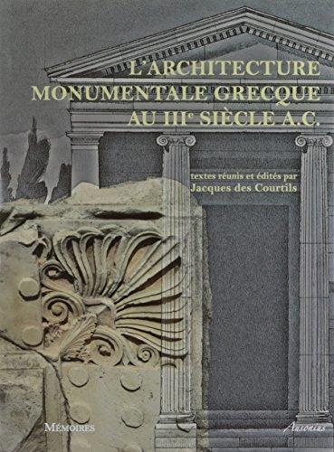 L'architecture monumentale grecque a...
