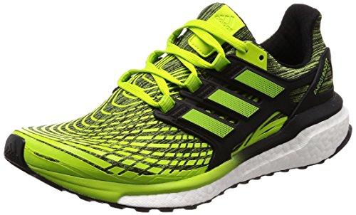 Adidas Herren Energy Boost Laufschuhe, Grün (Slime/Sslime/Cblack Sslime/Sslime/Cblack) , 43 1/3 EU