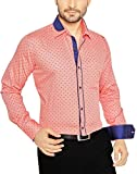 Global Rang Men's Cotton Printed Casual Shirt (46)