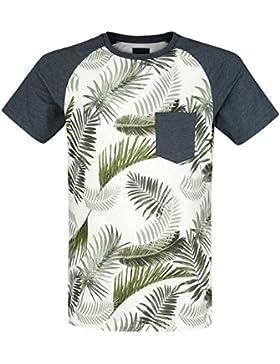 Produkt Palm Raglan Tee Camiseta Azul Marino XL