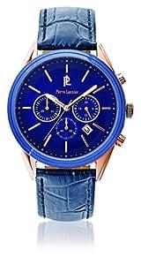 Pierre Lannier - 265F466 - Week-End Chrono - Montre Homme - Quartz Chronographe - Cadran Bleu - Bracelet Cuir Bleu