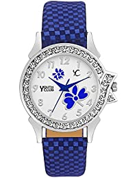 YOUTH CLUB Analogue White Dial Girl's Watch (Blulcl)