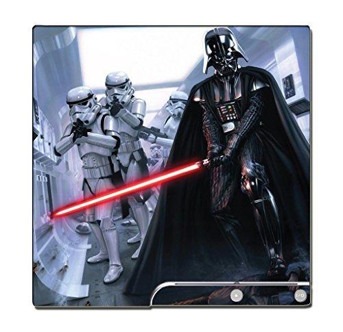 Star Wars Rebels Darth Vader Stormtroopers Lightsaber Video Game Vinyl Decal Skin Sticker Cover for Sony Playstation 3 PS3 Slim by Vinyl Skin Designs
